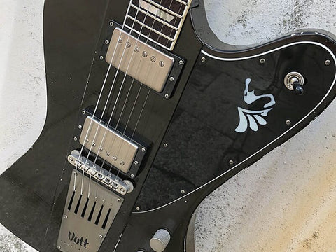 The New Volt Guitar with Sheptone Tributes Reviewed by Lords of Metal