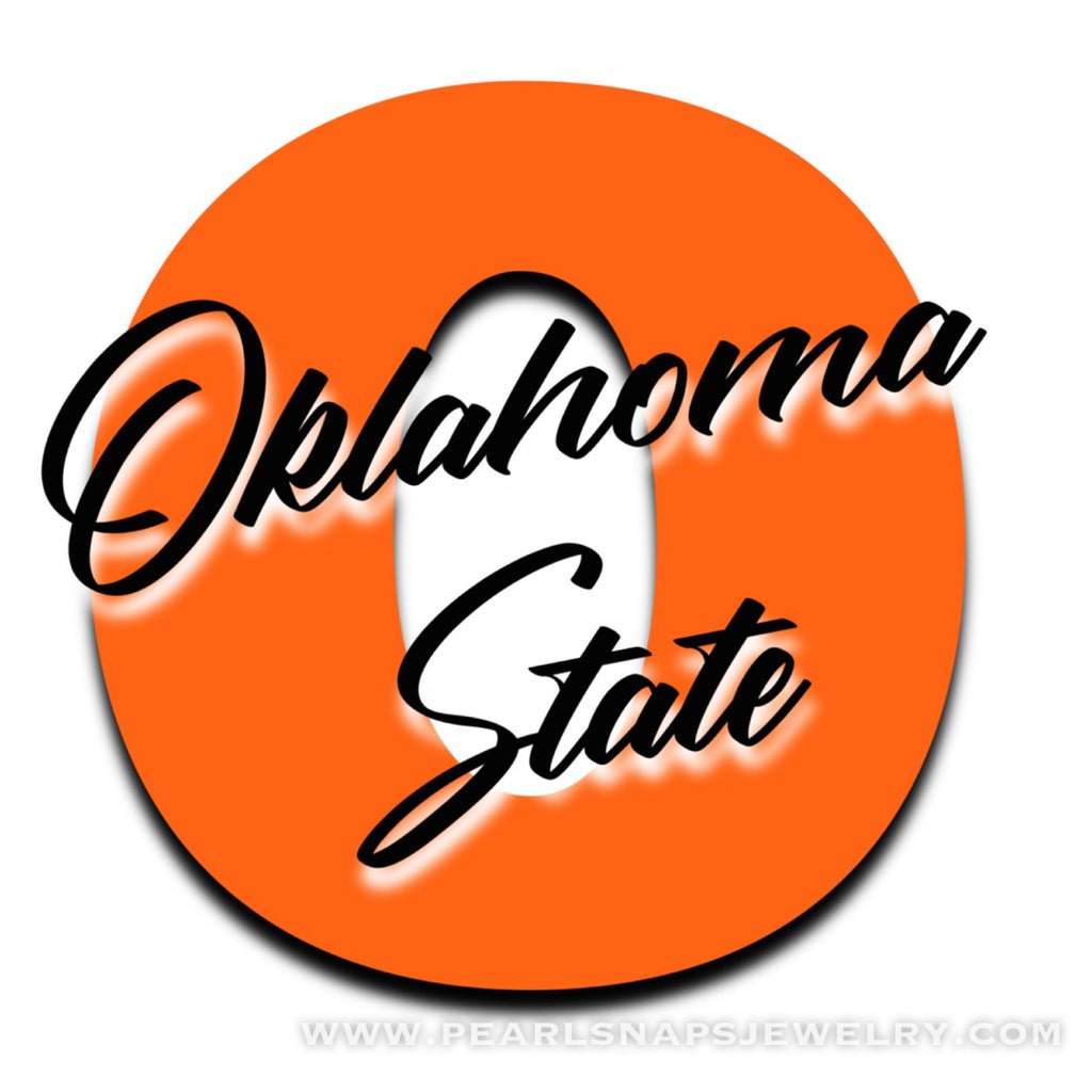 Oklahoma Orange & Black Snap