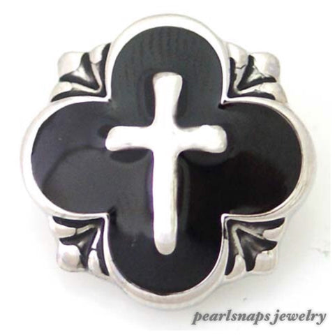 Cross  Enamel Black Snap