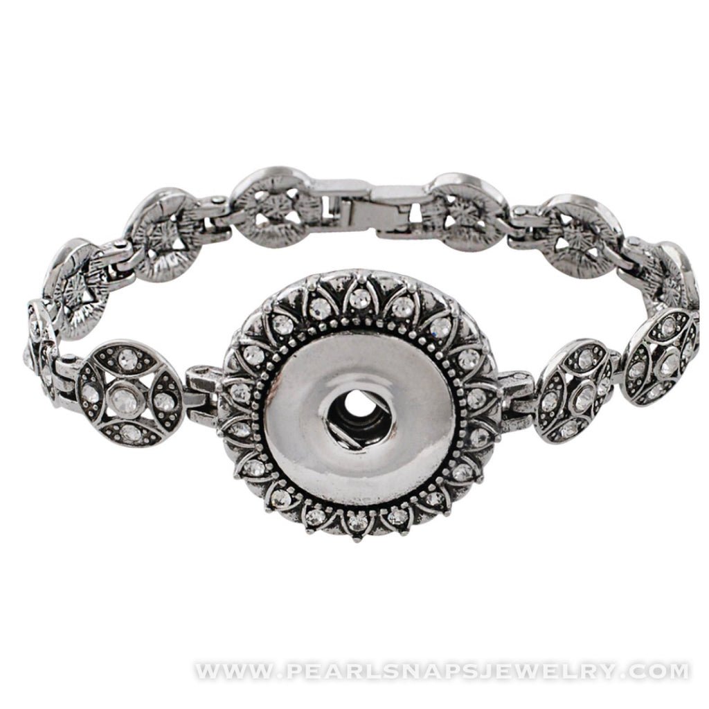 Lancaster Single Snap Jewel Bracelet