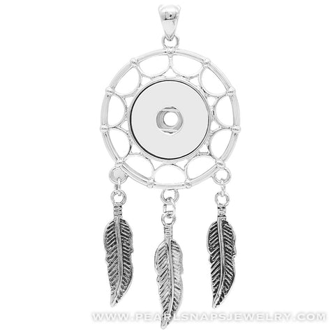 "Dreamcatcher Pendant Necklace on 30"" Chain"