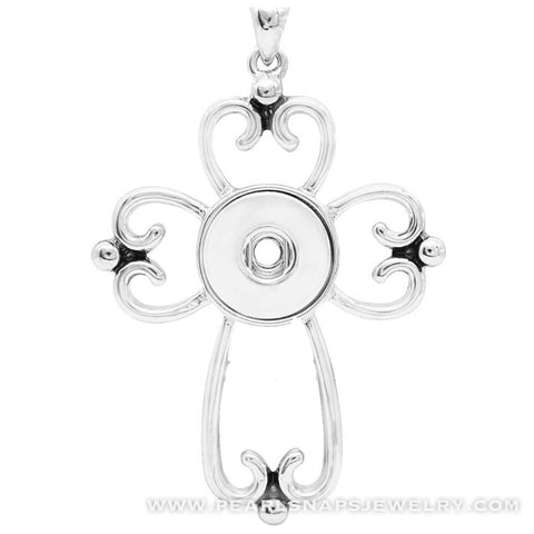 "Cross of Cantor Pendant Necklace 18"" Chain"