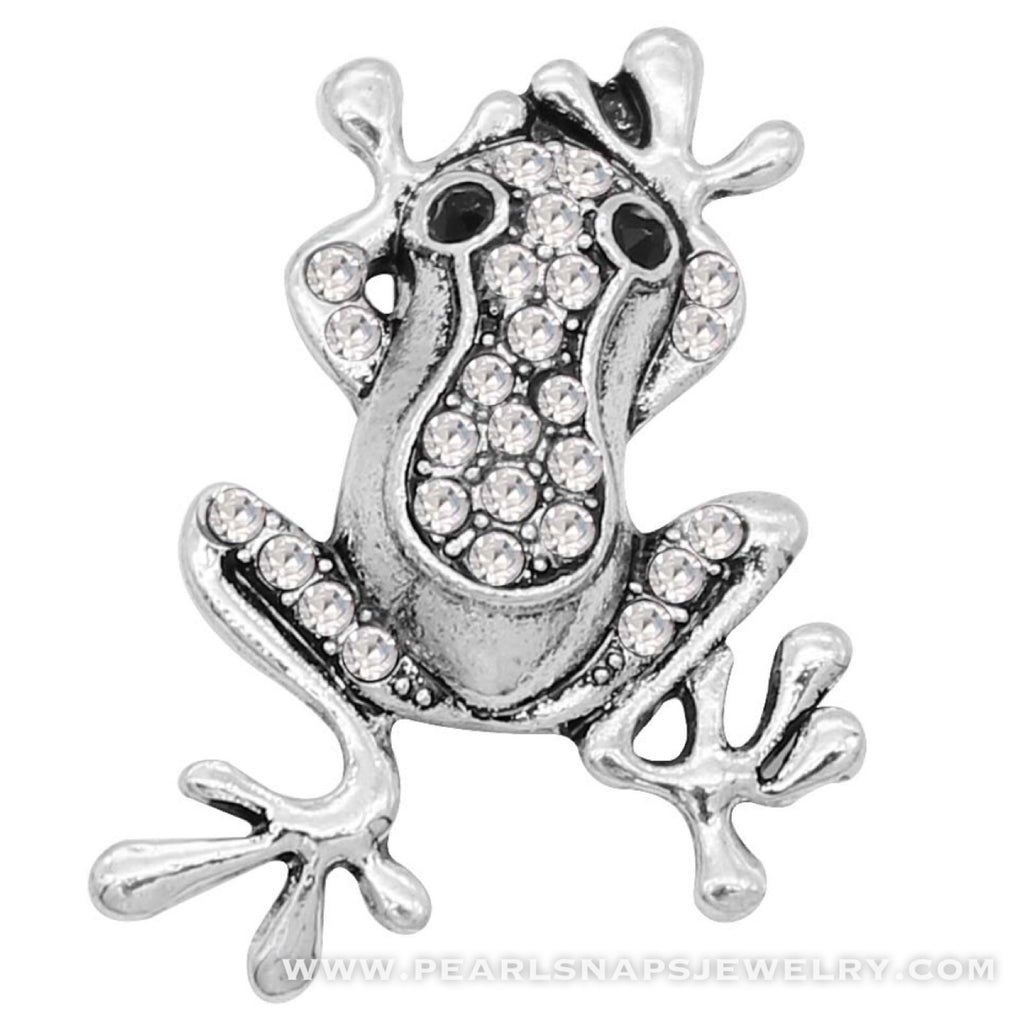Frog Prince Bling Snap White Ice