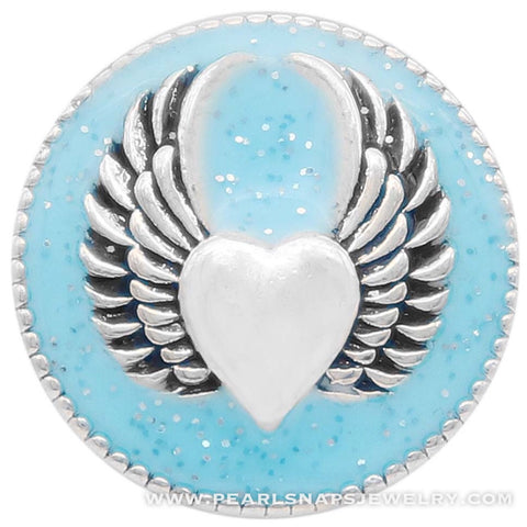 Wings of Love Snap Turquoise