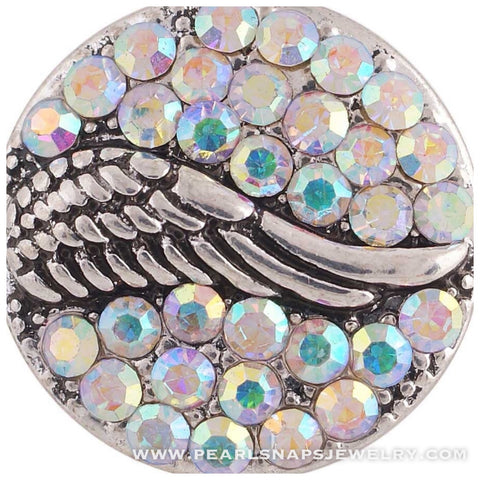 Wings of Mercy Bling Snap White Ice
