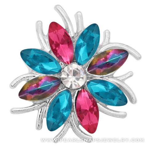 Idlewild Jewel Flowers Pink Blue