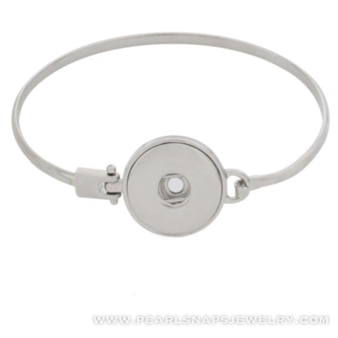 Classic Snap Bangle Bracelet