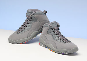 Cool Grey J's - Retro 10's