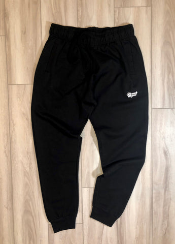 PHRESH MYNT™️ SOFT COTTON JOGGER - BLACK