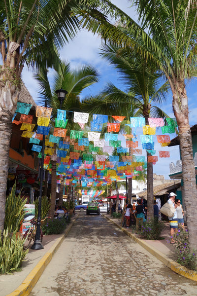 sayulita colorful streets
