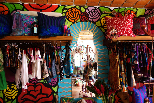 mexican colorful shop