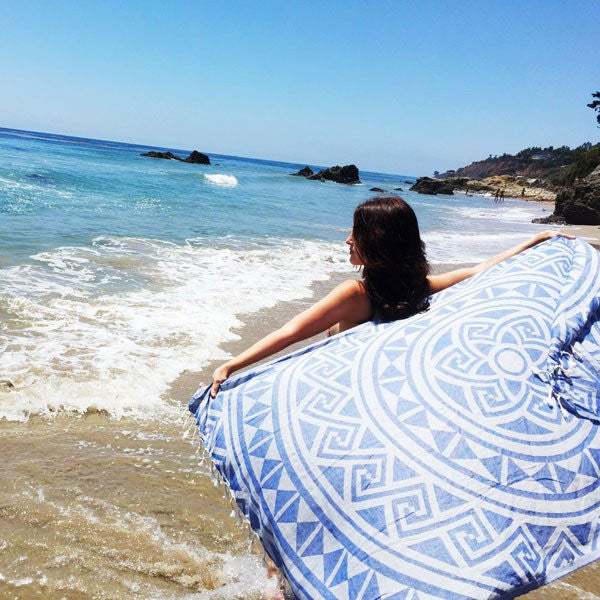 summer boho towel