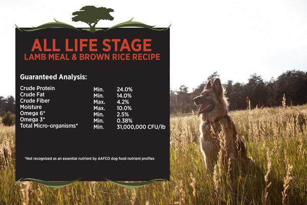 Blackwood All Life Stages Dog 3000, Everyday Diet, Lamb Meal & Brown Rice Recipe