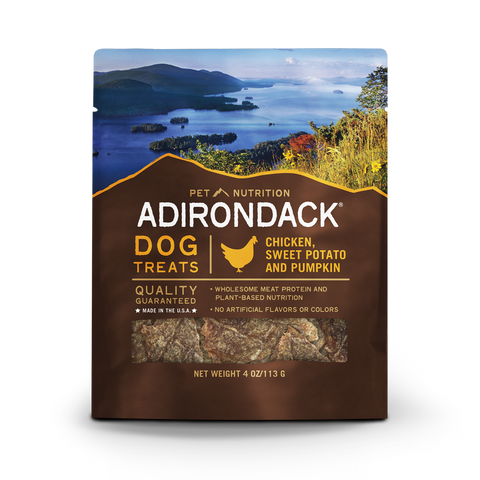 Adirondack All Life Stages, Chicken, Sweet Potato & Pumpkin Treats - 4oz.