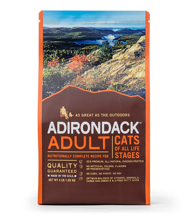 Adirondack Adult Nutritionally Complete For Cats Of All Life Stages