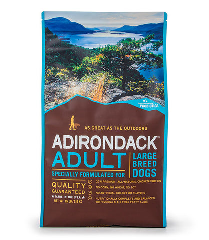 Adirondack Adult Specially Formulated For Large Breed Dogs