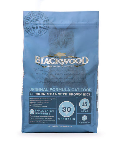 Blackwood Original Formula Cat, Chicken Meal with Brown Rice Recipe