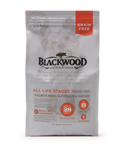Blackwood All Life Stages Dog, Special Diet, Grain Free, Salmon Meal & Field Pea Recipe