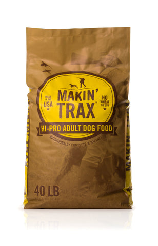 Makin' Trax High-Pro Dog Food