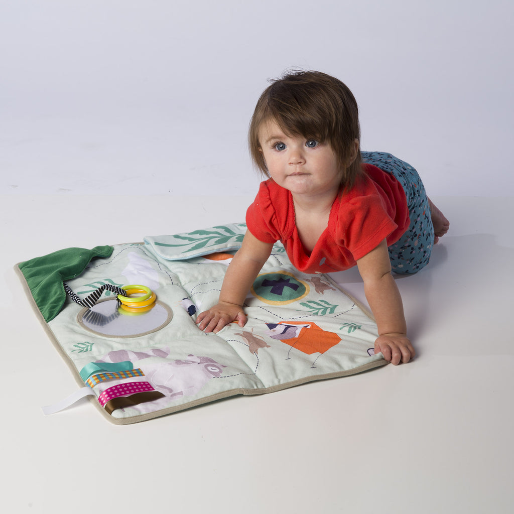 Little Girl on Play Map