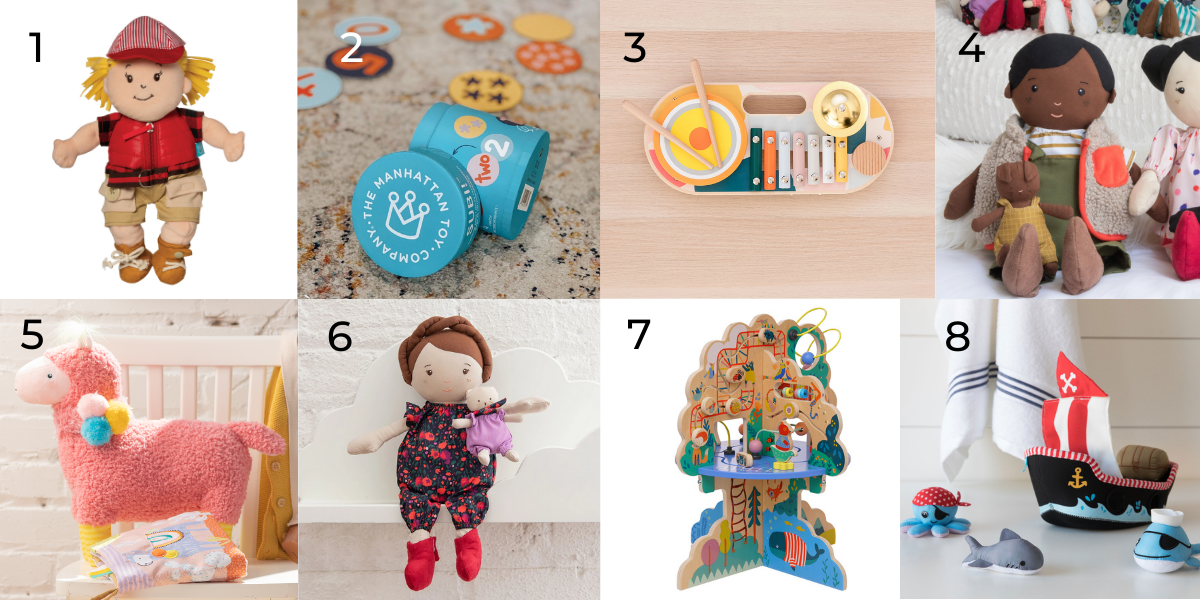 Our 8 favs for two year olds.