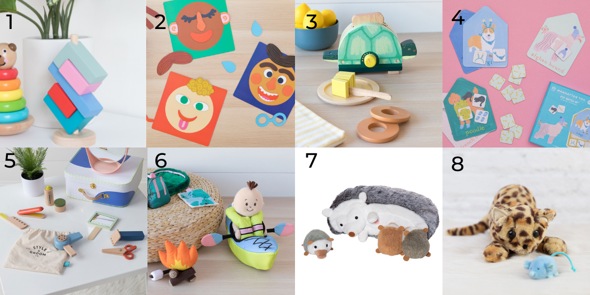 Our 8 favs for 3 and 4 year olds.
