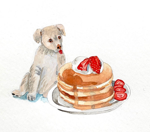 Minnie's Puppy with Pancakes