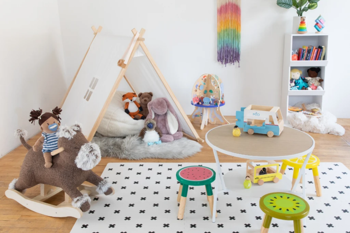 Learning friendly play space.