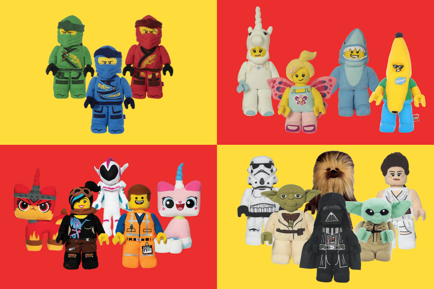 LEGO minifigures now available.