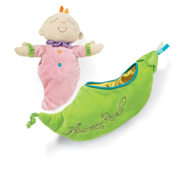 Sweet Pea, Snuggle Pod, Sweet Pea Snuggle Pod, Manhattan Toy, Travel Toys, Baby Toys