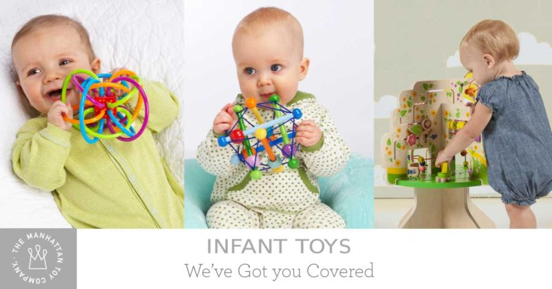 Ages & Stages: Developmental Toys for Baby