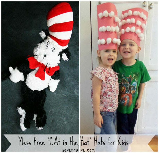 Mess Free Cat in the Hat Hats for Kids