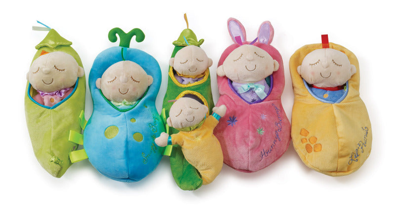 Snuggle Pods Soft Toys