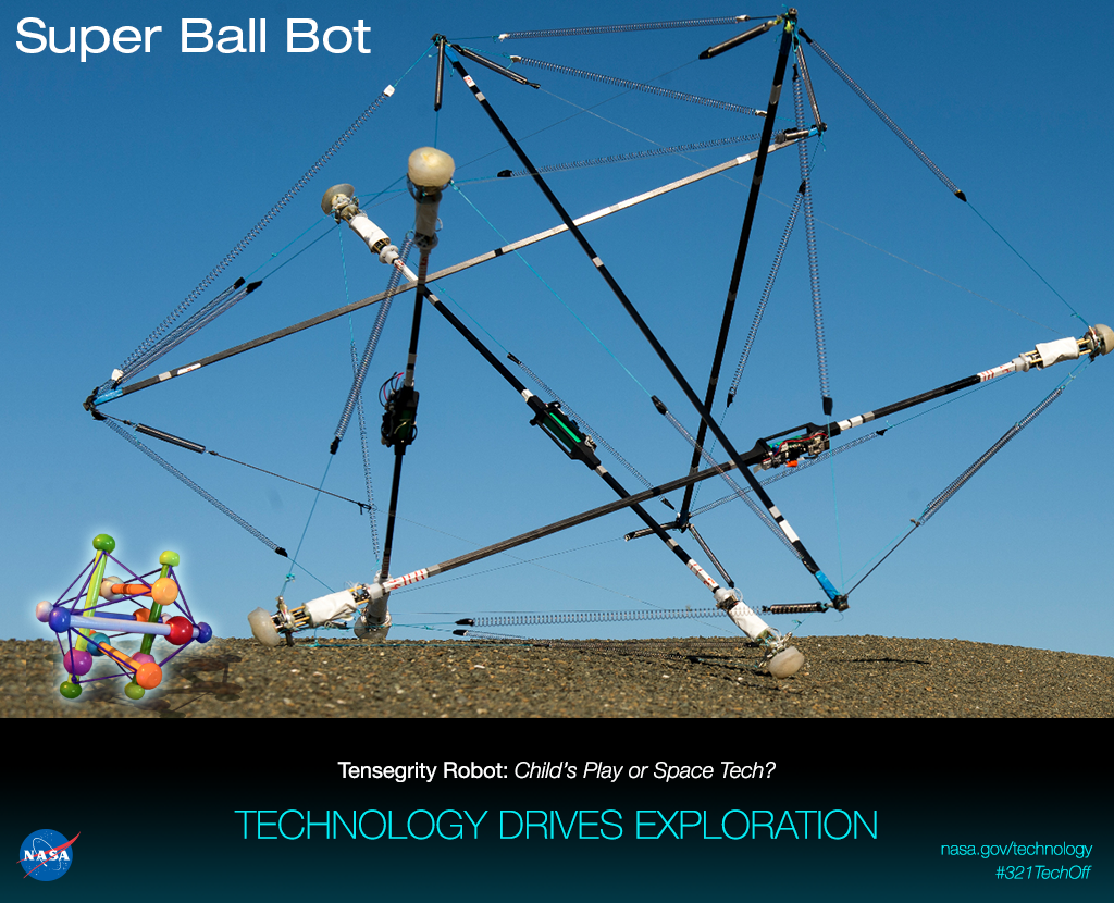 NASA super ball bot