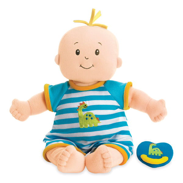 Baby Stella Peach Fella Doll with Yellow Hair - Manhattan Toy