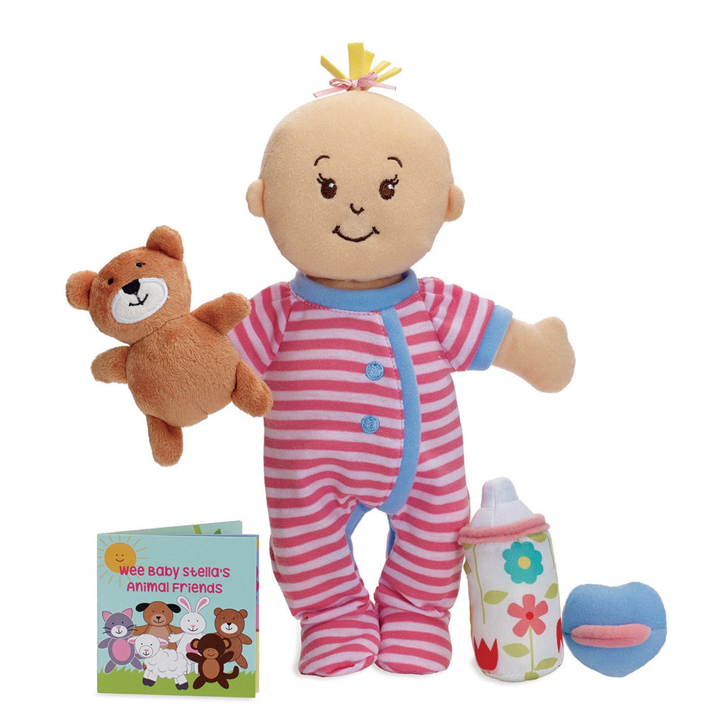 Baby Doll Wee Baby Stella Lavender Scented Doll Set By