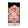 Baby Stella Peach Doll with Black Pigtails - Manhattan Toy
