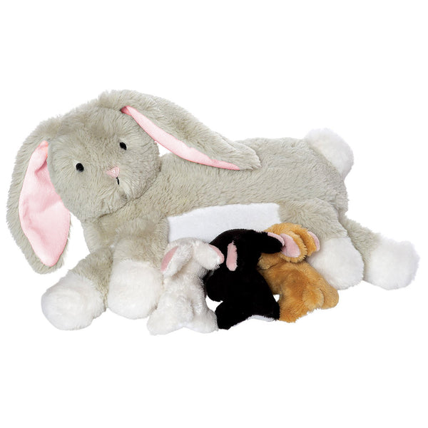 Nursing Nola Rabbit - Manhattan Toy