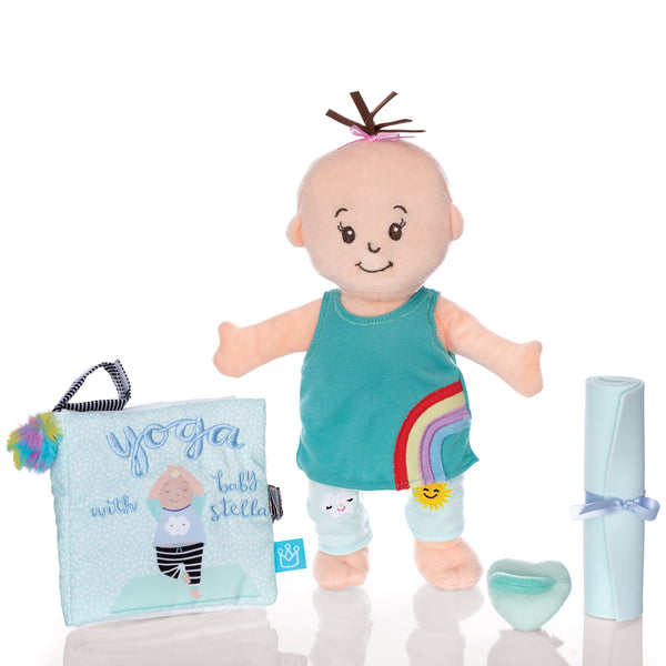 Wee Baby Stella Yoga Set - Manhattan Toy