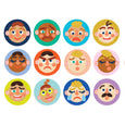 Making Faces Memory Game - Manhattan Toy
