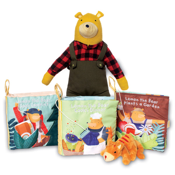 Lemon the Bear Plants a Garden Book