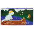 Sleepy Not Sleepy - A Tiny Dino's Bedtime Adventure Board Book - Manhattan Toy