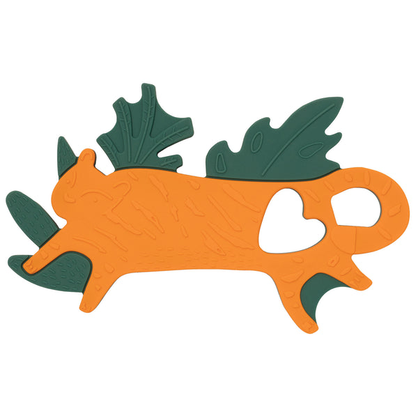 Silicone Teether Tiger - Manhattan Toy
