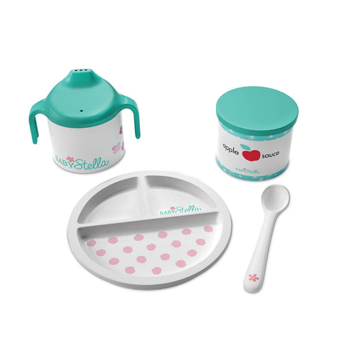 Soft Doll Baby Stella Darling Dish Set