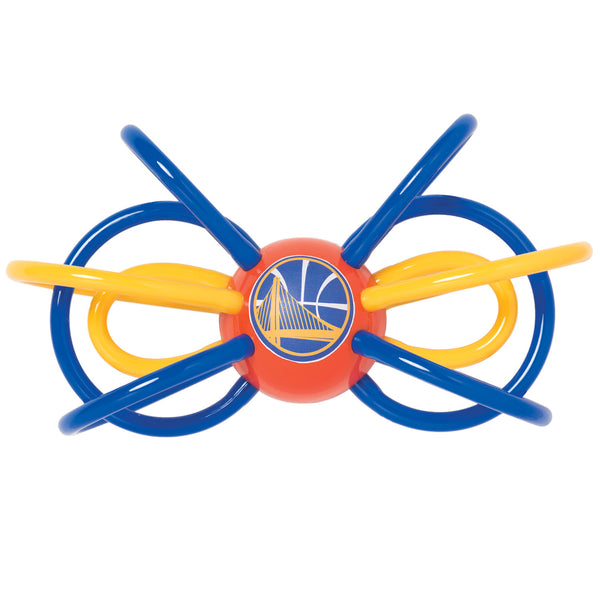 Baby Fanatic NBA Officially Licensed Winkel Rattle Teether Golden State Warriors