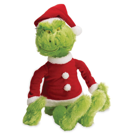 Dr. Seuss THE GRINCH In Santa Suit