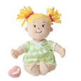 Baby Stella Peach Doll with Yellow Pigtails - Manhattan Toy