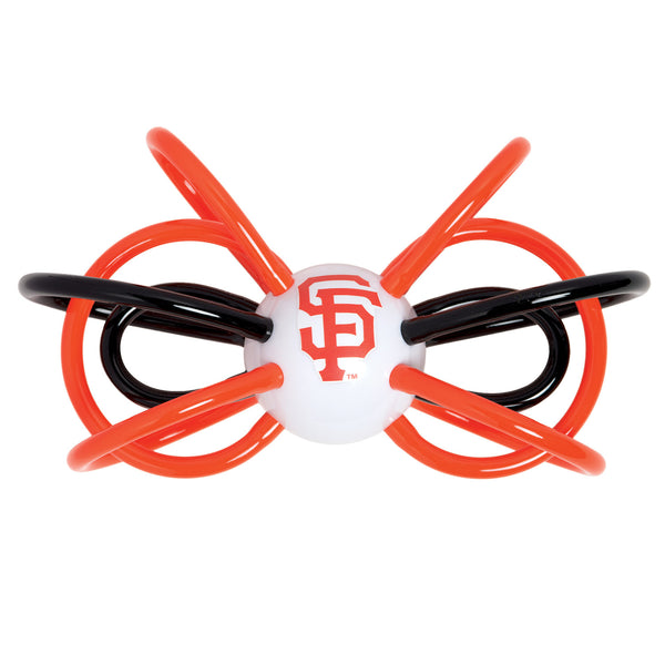 Baby Fanatic MLB Officially Licensed Winkel Rattle Teether San Francisco Giants - Manhattan Toy
