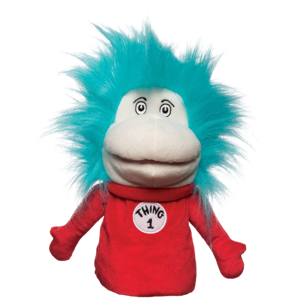 Dr Seuss Who Is He: Dr. Seuss Thing 1 & Thing 2 Hand Puppet