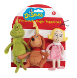Dr. Seuss THE GRINCH Finger Puppet Set